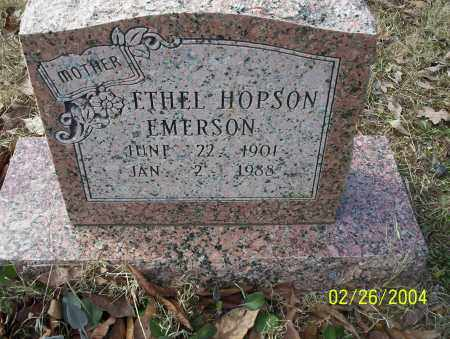 HOPSON EMERSON, ETHEL - Ouachita County, Arkansas | ETHEL HOPSON EMERSON - Arkansas Gravestone Photos