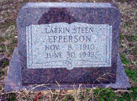 EPPERSON, LARKIN STEEN - Ouachita County, Arkansas | LARKIN STEEN EPPERSON - Arkansas Gravestone Photos