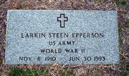 EPPERSON (VETERAN WWII), LARKIN STEEN - Ouachita County, Arkansas | LARKIN STEEN EPPERSON (VETERAN WWII) - Arkansas Gravestone Photos