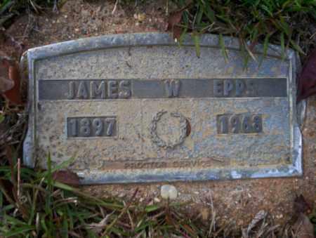 EPPS, JAMES W - Ouachita County, Arkansas | JAMES W EPPS - Arkansas Gravestone Photos