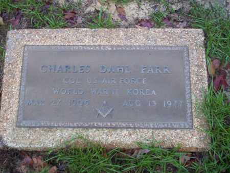 FARR  (VETERAN 2 WARS), CHARLES DAHL - Ouachita County, Arkansas | CHARLES DAHL FARR  (VETERAN 2 WARS) - Arkansas Gravestone Photos