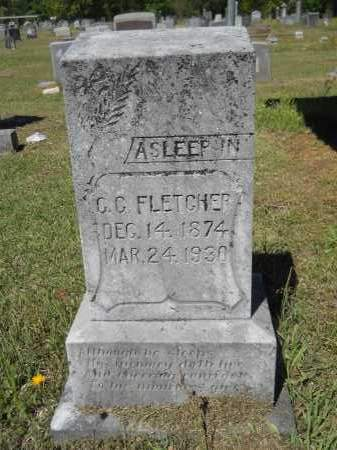 FLETCHER, C.C. - Ouachita County, Arkansas | C.C. FLETCHER - Arkansas Gravestone Photos