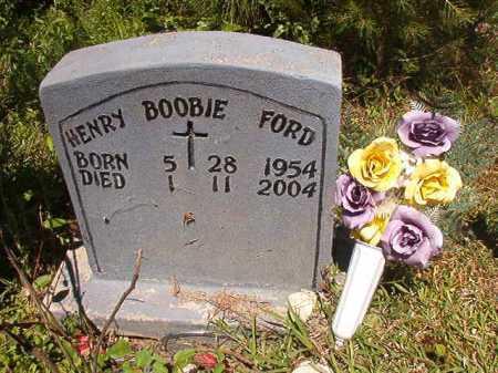 "FORD, HENRY ""BOOBIE"" - Ouachita County, Arkansas   HENRY ""BOOBIE"" FORD - Arkansas Gravestone Photos"