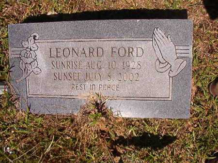 FORD, LEONARD - Ouachita County, Arkansas | LEONARD FORD - Arkansas Gravestone Photos