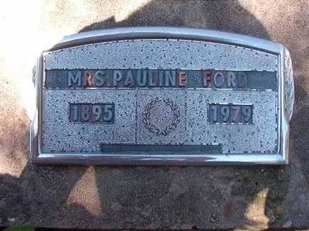 FORD, PAULINE - Ouachita County, Arkansas | PAULINE FORD - Arkansas Gravestone Photos