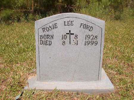 FORD, ROSIE LEE - Ouachita County, Arkansas | ROSIE LEE FORD - Arkansas Gravestone Photos