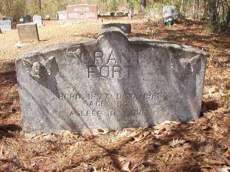 FORT, GRANT - Ouachita County, Arkansas | GRANT FORT - Arkansas Gravestone Photos