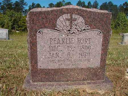 FORT, PEARLIE - Ouachita County, Arkansas | PEARLIE FORT - Arkansas Gravestone Photos
