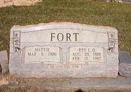 FORT, REV, L O - Ouachita County, Arkansas | L O FORT, REV - Arkansas Gravestone Photos