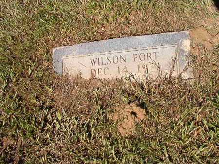 FORT, WILSON - Ouachita County, Arkansas | WILSON FORT - Arkansas Gravestone Photos
