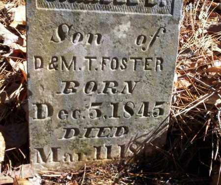 FOSTER, SAMUEL D - Ouachita County, Arkansas | SAMUEL D FOSTER - Arkansas Gravestone Photos