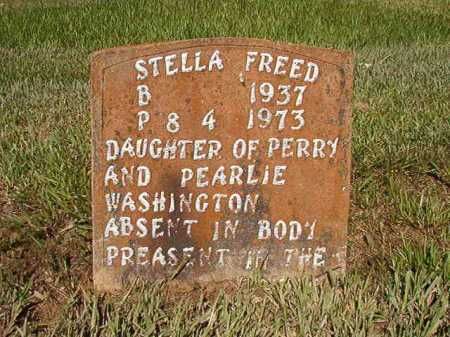 WASHINGTON FREED, STELLA - Ouachita County, Arkansas | STELLA WASHINGTON FREED - Arkansas Gravestone Photos