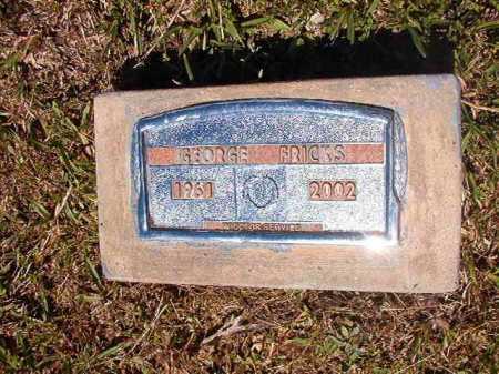 FRICKS, GEORGE - Ouachita County, Arkansas   GEORGE FRICKS - Arkansas Gravestone Photos