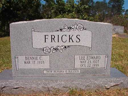 FRICKS, LEE EDWARD - Ouachita County, Arkansas | LEE EDWARD FRICKS - Arkansas Gravestone Photos