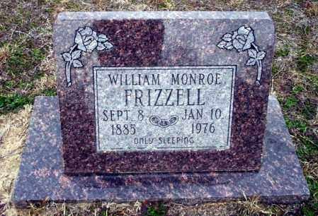 FRIZZELL, WILLIAM MONROE - Ouachita County, Arkansas | WILLIAM MONROE FRIZZELL - Arkansas Gravestone Photos