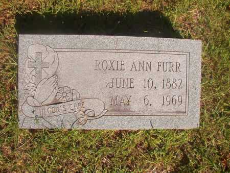 FURR, ROXIE ANN - Ouachita County, Arkansas | ROXIE ANN FURR - Arkansas Gravestone Photos
