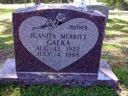 GALKA, JUANITA - Ouachita County, Arkansas | JUANITA GALKA - Arkansas Gravestone Photos