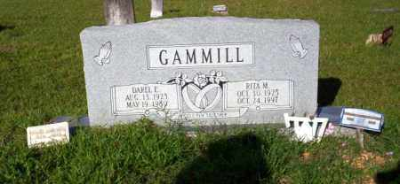 GAMMELL, RITA M - Ouachita County, Arkansas | RITA M GAMMELL - Arkansas Gravestone Photos