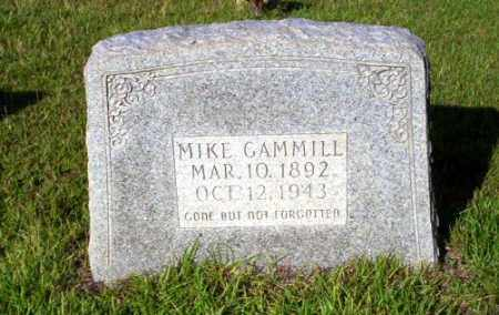 GAMMILL, MIKE - Ouachita County, Arkansas | MIKE GAMMILL - Arkansas Gravestone Photos