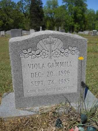GAMMILL, VIOLA - Ouachita County, Arkansas | VIOLA GAMMILL - Arkansas Gravestone Photos