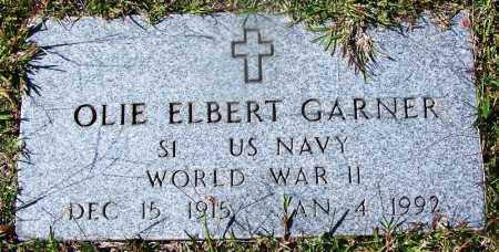 GARNER (VETERAN WWII), OLIE ELBERT - Ouachita County, Arkansas | OLIE ELBERT GARNER (VETERAN WWII) - Arkansas Gravestone Photos
