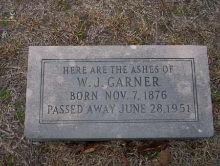 GARNER, W.J. - Ouachita County, Arkansas | W.J. GARNER - Arkansas Gravestone Photos