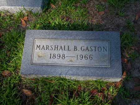 GASTON, MARSHALL B - Ouachita County, Arkansas | MARSHALL B GASTON - Arkansas Gravestone Photos