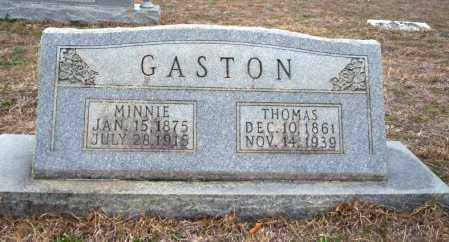 GASTON, MINNIE - Ouachita County, Arkansas | MINNIE GASTON - Arkansas Gravestone Photos