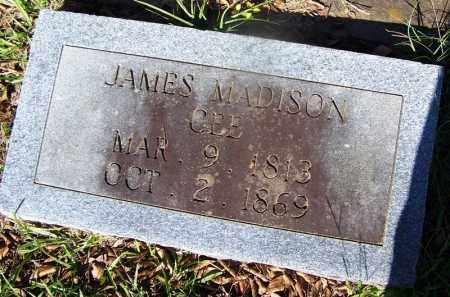 GEE, JAMES MADISON - Ouachita County, Arkansas | JAMES MADISON GEE - Arkansas Gravestone Photos