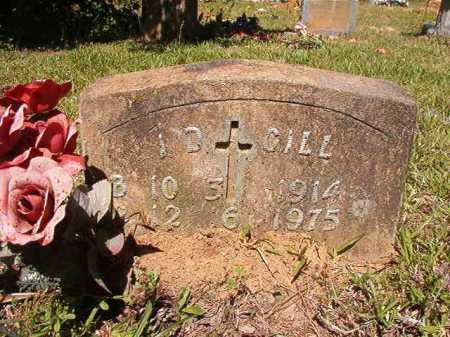 GILL, I D - Ouachita County, Arkansas | I D GILL - Arkansas Gravestone Photos