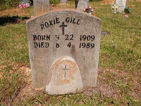 GILL, ROXIE - Ouachita County, Arkansas | ROXIE GILL - Arkansas Gravestone Photos