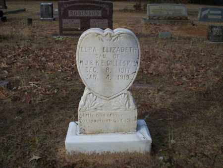 GILLESPIE, ELRA ELIZABETH - Ouachita County, Arkansas | ELRA ELIZABETH GILLESPIE - Arkansas Gravestone Photos
