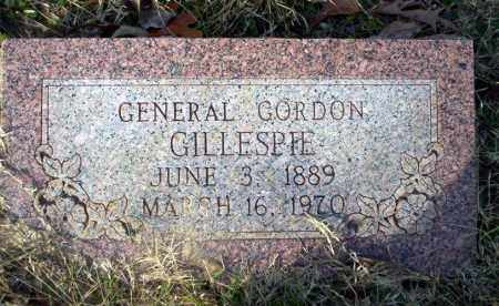 GILLESPIE, GENERAL GORDON - Ouachita County, Arkansas | GENERAL GORDON GILLESPIE - Arkansas Gravestone Photos