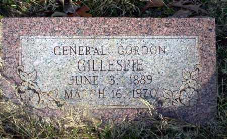 GILLESPIE, GENERAL GORDON - Ouachita County, Arkansas | GENERAL GORDON GILLESPIE - Arkansas Gravestone Photos