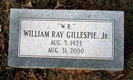 GILLESPIE JR, WILLIAM RAY - Ouachita County, Arkansas | WILLIAM RAY GILLESPIE JR - Arkansas Gravestone Photos