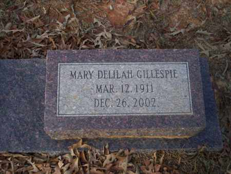 GILLESPIE, MARY DELILAH - Ouachita County, Arkansas | MARY DELILAH GILLESPIE - Arkansas Gravestone Photos