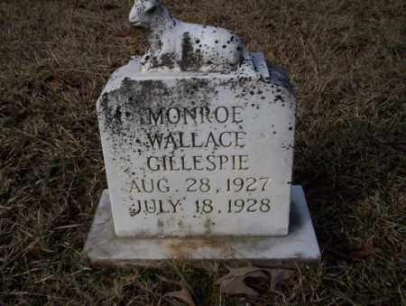 GILLESPIE, MONROE WALLACE - Ouachita County, Arkansas | MONROE WALLACE GILLESPIE - Arkansas Gravestone Photos