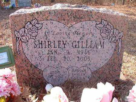 GILLIAM, SHIRLEY - Ouachita County, Arkansas | SHIRLEY GILLIAM - Arkansas Gravestone Photos