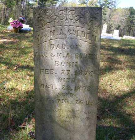 GOLDEN, MRS. N. A. - Ouachita County, Arkansas | MRS. N. A. GOLDEN - Arkansas Gravestone Photos