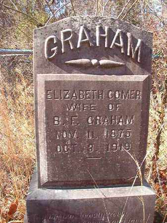 COMER GRAHAM, ELIZABETH - Ouachita County, Arkansas | ELIZABETH COMER GRAHAM - Arkansas Gravestone Photos