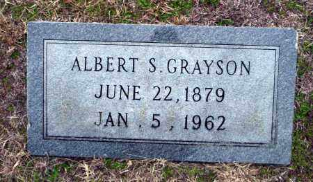 GRAYSON, ALBERT S - Ouachita County, Arkansas | ALBERT S GRAYSON - Arkansas Gravestone Photos