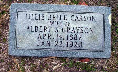 GRAYSON, LILLIE BELLE - Ouachita County, Arkansas | LILLIE BELLE GRAYSON - Arkansas Gravestone Photos