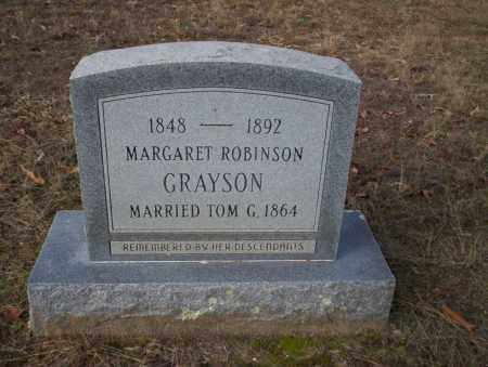 GRAYSON, MARGARET - Ouachita County, Arkansas | MARGARET GRAYSON - Arkansas Gravestone Photos