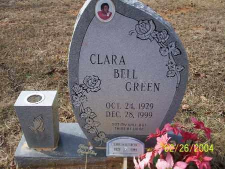 GREEN, CLARA BELL - Ouachita County, Arkansas | CLARA BELL GREEN - Arkansas Gravestone Photos