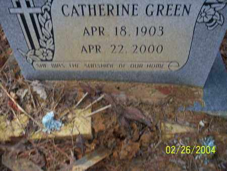 GREEN, CATHERINE - Ouachita County, Arkansas | CATHERINE GREEN - Arkansas Gravestone Photos