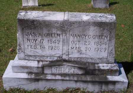 GREEN, JAS A. - Ouachita County, Arkansas | JAS A. GREEN - Arkansas Gravestone Photos