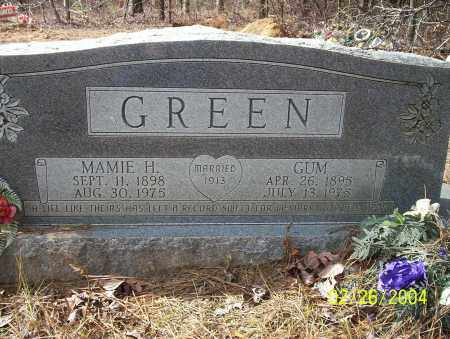 GREEN, MAMIE H - Ouachita County, Arkansas | MAMIE H GREEN - Arkansas Gravestone Photos