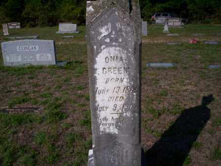 GREEN, ONIA - Ouachita County, Arkansas | ONIA GREEN - Arkansas Gravestone Photos