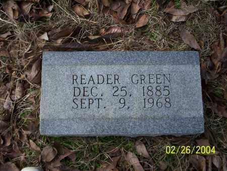 GREEN, READER - Ouachita County, Arkansas | READER GREEN - Arkansas Gravestone Photos
