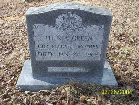 GREEN, THENIA - Ouachita County, Arkansas | THENIA GREEN - Arkansas Gravestone Photos